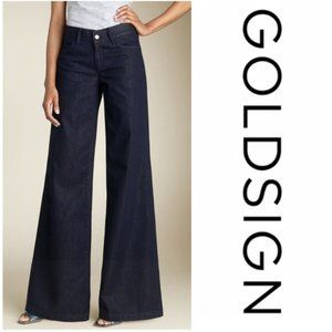 Goldsign Orchid Wide Leg Jeans 25